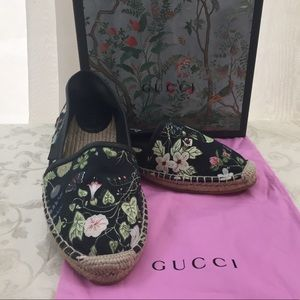 🆕 Gucci Bloom collection espadrilles,(run small )